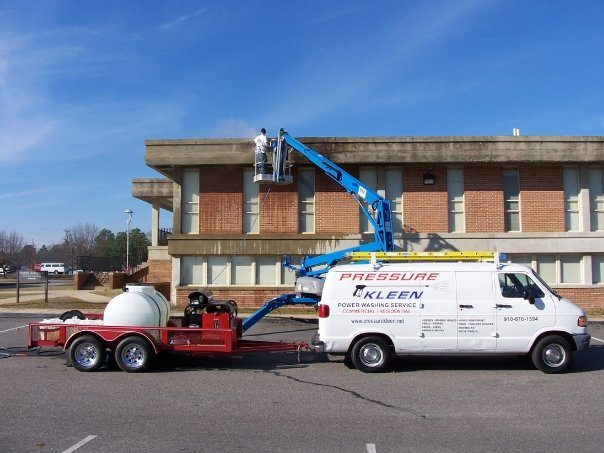 Commercial Pressure Washing Services From Fayetteville Nc