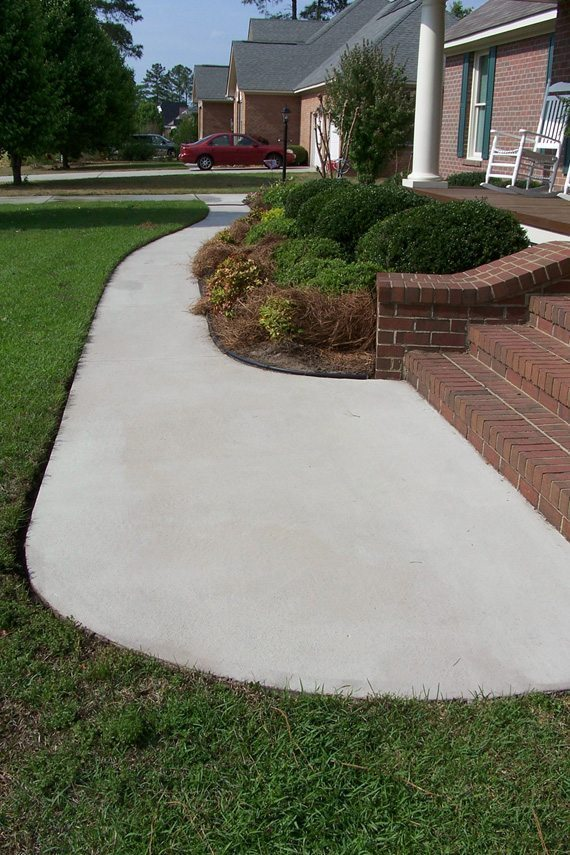 Concrete cleaning driveway cleaning in fayetteville for Concrete cleaning service